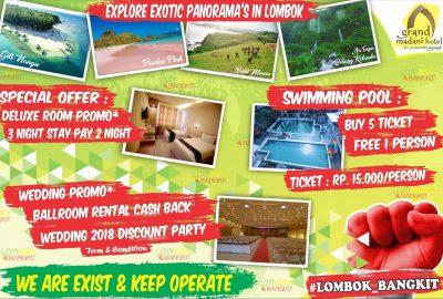 Promo Lombok Bangkit